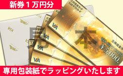 【新券】VJA(VISA)ギフトカード1万円分(5000円券×2枚)